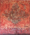 "Red Cluster  <br> 54""x50""<br>Private Collection ,NYC"